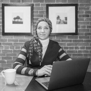 ERP-One staff | Asmaa Al-Rawi, Database Consultant