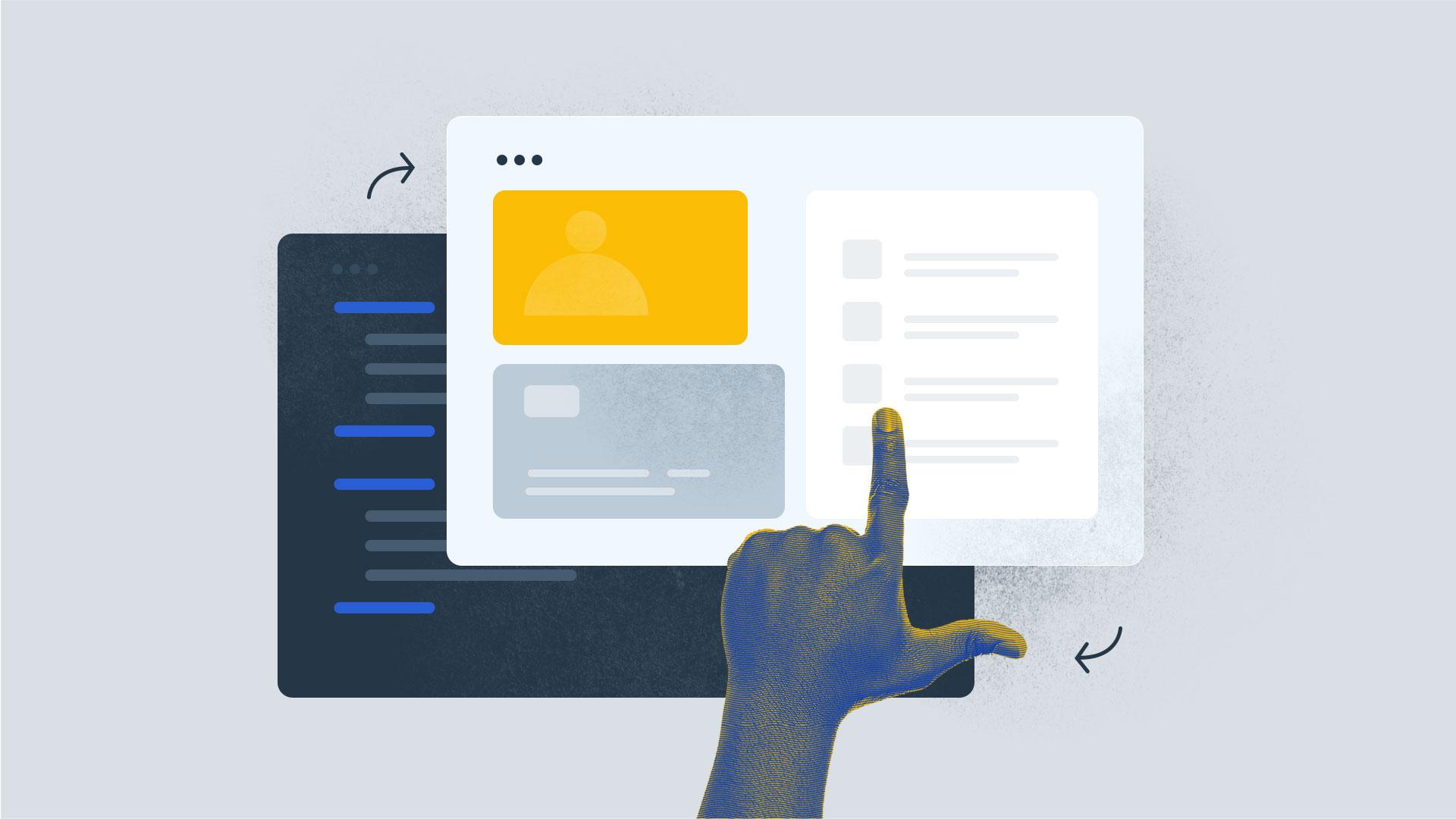 no code process illustration
